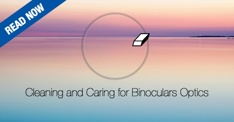 Cleaning and Caring for Binoculars Optics