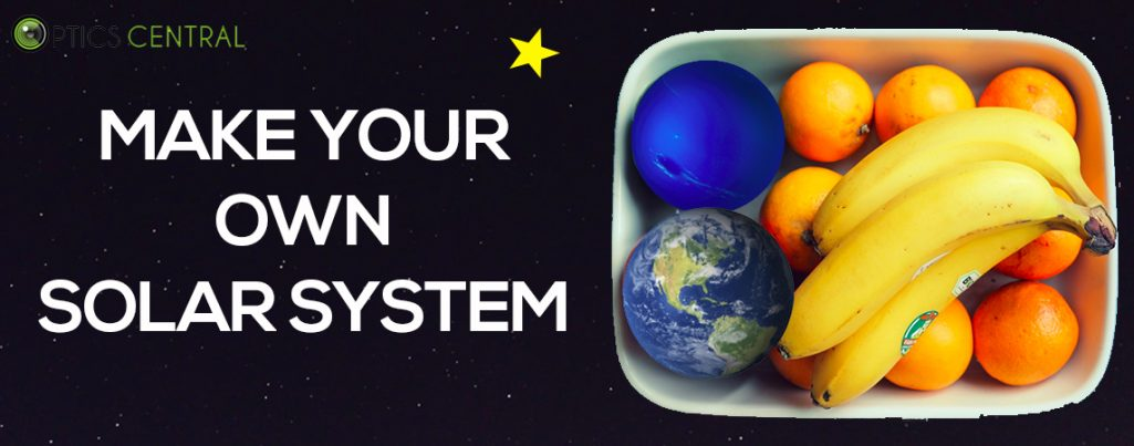 Celebrating National Science Week Day 7 - Make Your Own Solar System