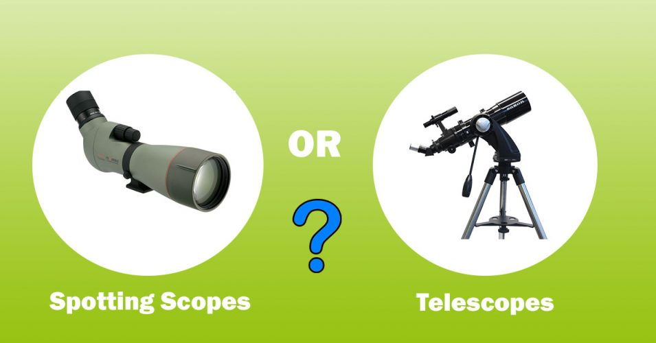 Spotting scopes or Telescopes front cover