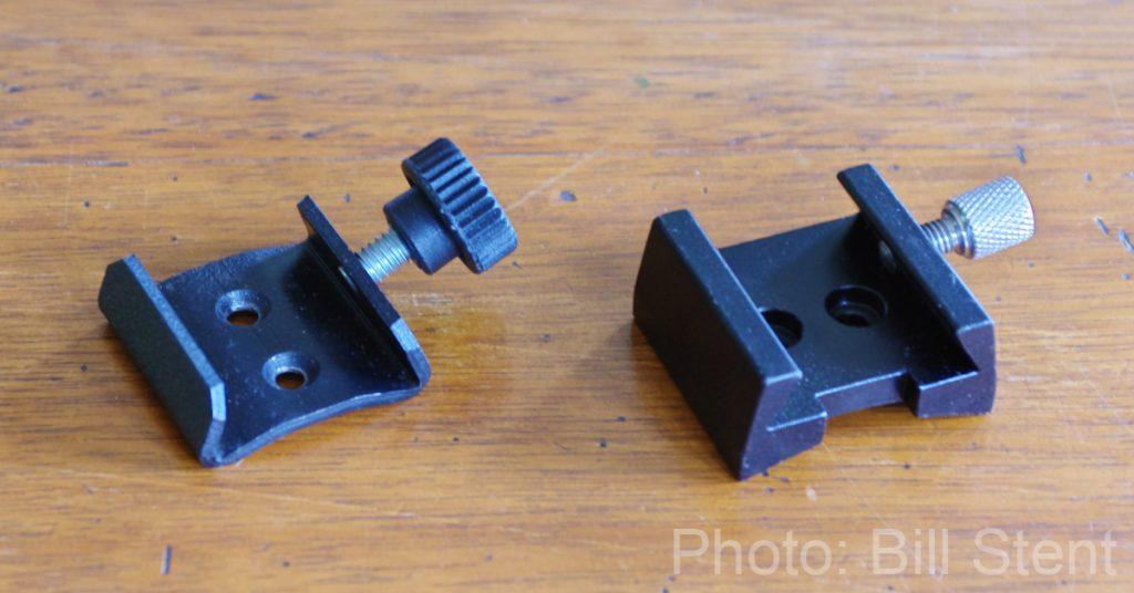 Separate finderscope mounts