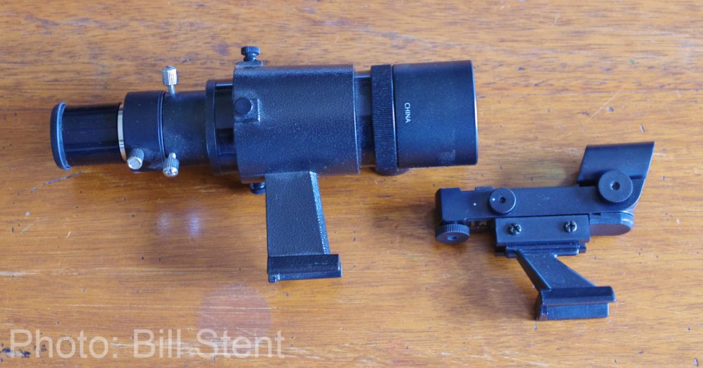 Optical finderscope and a red-dot