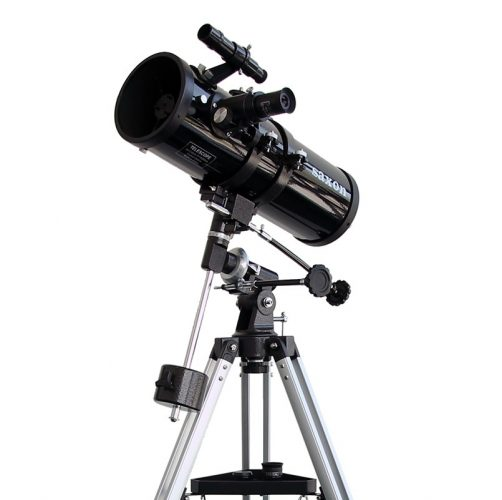 A small Newtonian telescope