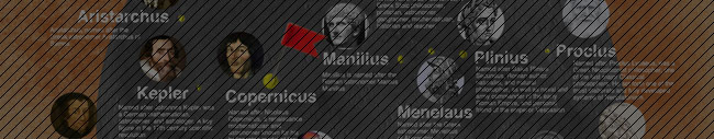 Famous People With Moon Craters Named After Them [Infographic]
