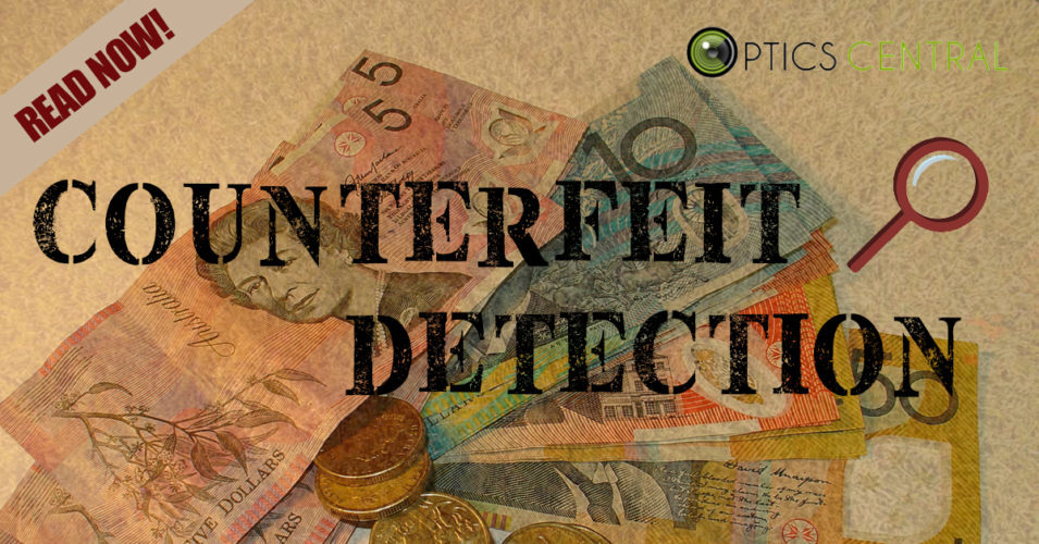 Celebrating National Science Week Day 3 - Counterfeit Detection