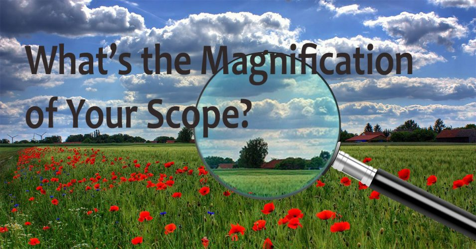 Finding Telescope Magnification