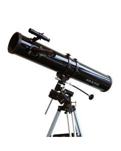 Saxon F1149 EQ Reflector Telescope w/R.A Motor Drive