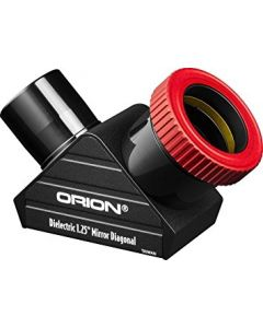 "Orion 1.25"" Twist-Tight Dielectric Mirror Star Diagonal"
