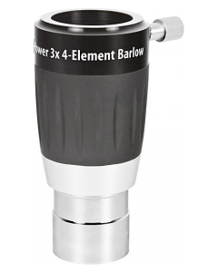 Orion High-Power 3x 4-Element Barlow Lens - 1.25-inch