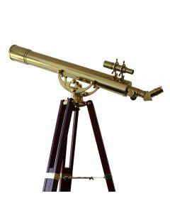 Saxon Grandeur 80mm Brass Refractor Telescope 260020