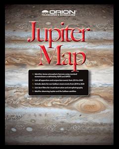 Orion® Jupiter Map & Observing Guide