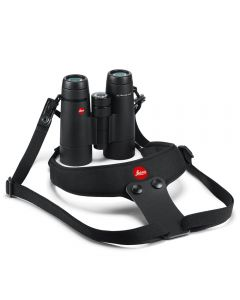 Leica Neoprene Binocular Strap Sport - Pitch Black