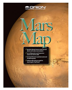 Orion® Mars Map & Observing Guide