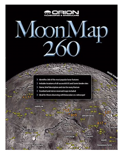Orion® Moon Map 260