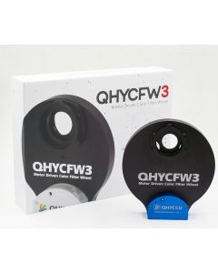 "QHY Gen 3 Colour Filter Wheel - Extra Large for 2"" Filters / 50mm Square Filters"