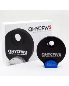 "QHY Gen 3 Colour Filter Wheel - Small size, standard width, suits 7x1.25"" filters"