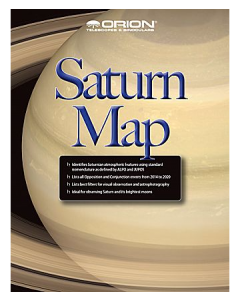 Orion® Saturn Map & Observing Guide
