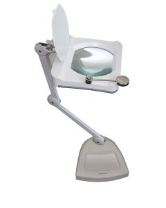 "Saxon 7.5"" LED Desktop Lamp Magnifier"