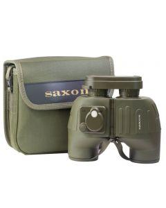 Saxon 7x50 Military Binoculars w/ Compass