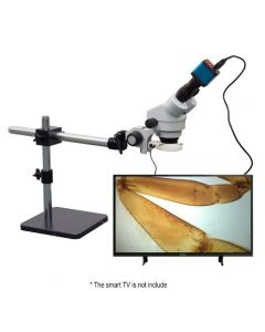 Saxon Biosecurity Inspection Microscope 7x-45x with 10MP Camera