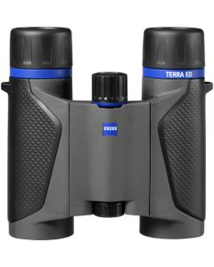 Carl Zeiss Terra ED Pocket 8x25 Binoculars  (Black/Grey)