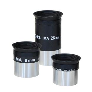 "saxon 26mm / 9mm / 6.3mm 1.25"" Eyepieces"